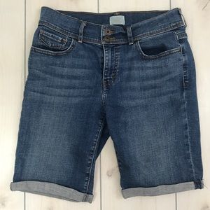 Levi's 515 Bermuda Cuffed Jean Shorts sz 10